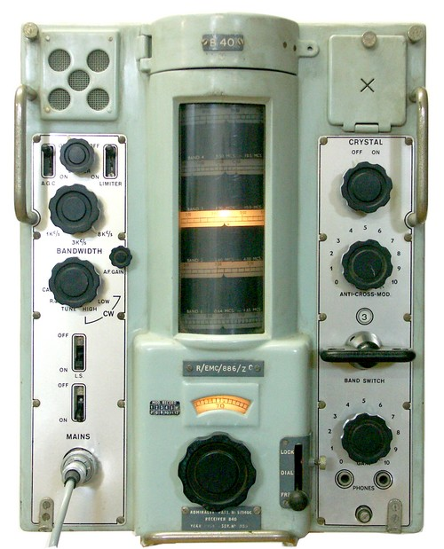 MURPHY RECEIVER RADIO B40 ADMIRALTY